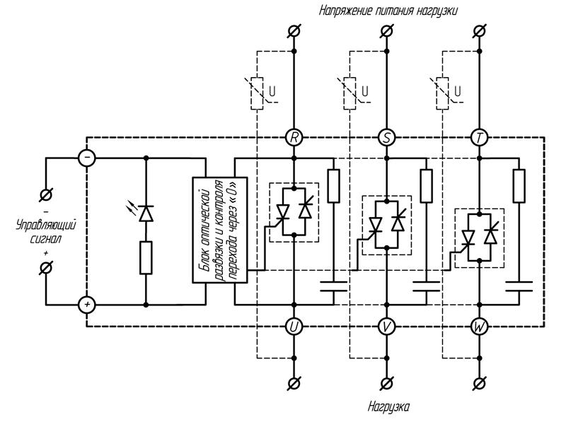 Реле серии HT-хх44.ZD3 (60и 80 A)