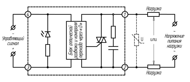 Реле серии HD-хх44.ZD3