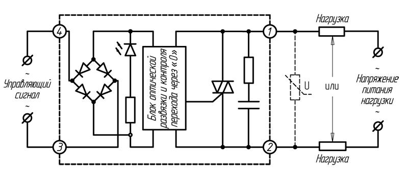 Реле серии HD-хх44.ZA2 (≤ 40 А)