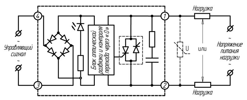 Реле серии HD-хх44.ZA2 (≥ 60 А)