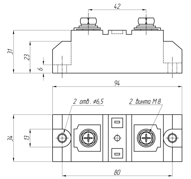 Реле серии BDH-хх44.ZD3