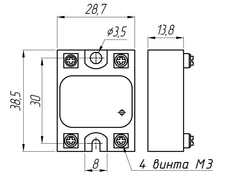 Реле серии MD-хх44.ZD3