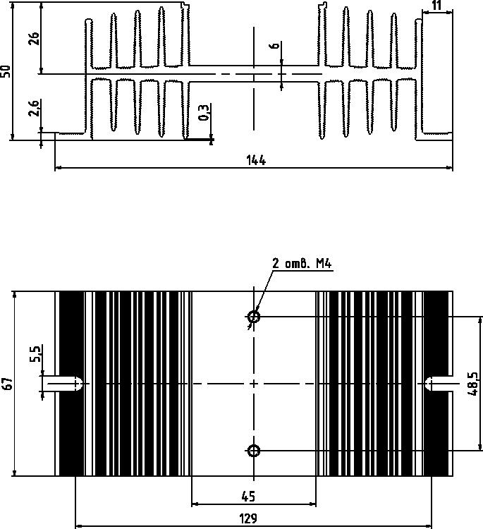 радиатор KIPPRIBOR РТР061.1