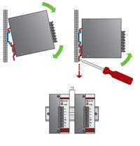 Схема установки блоков питания WBP