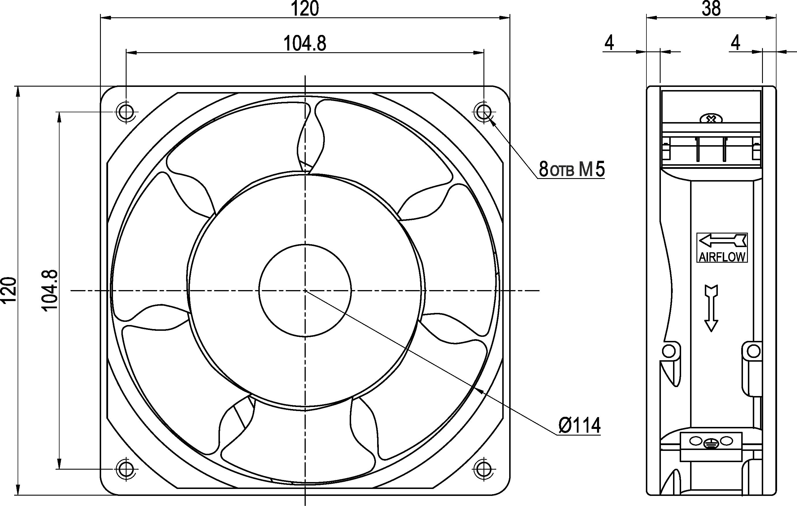 VENT-12038.220VAC