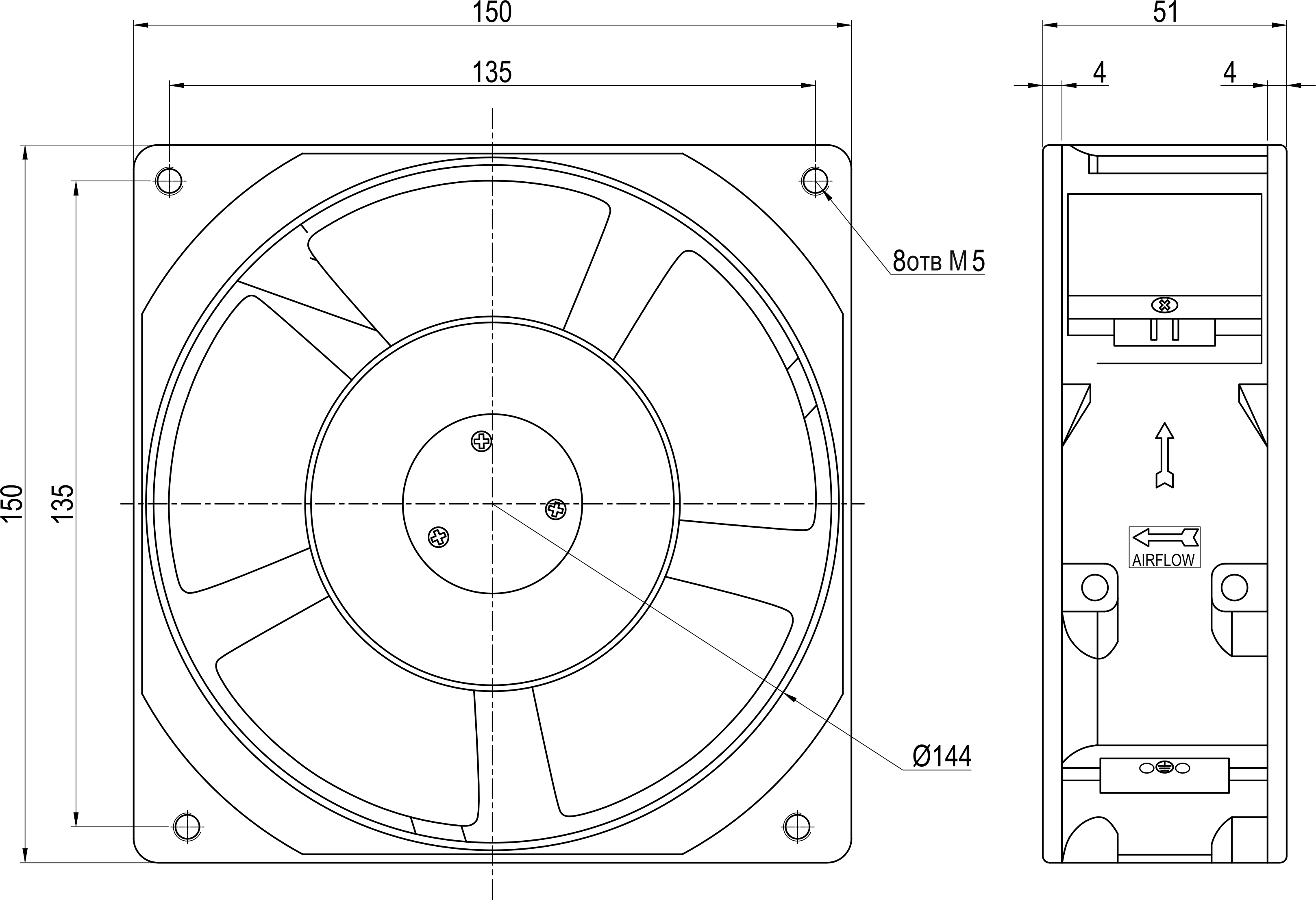 VENT-15051.220VAC.5MSHB