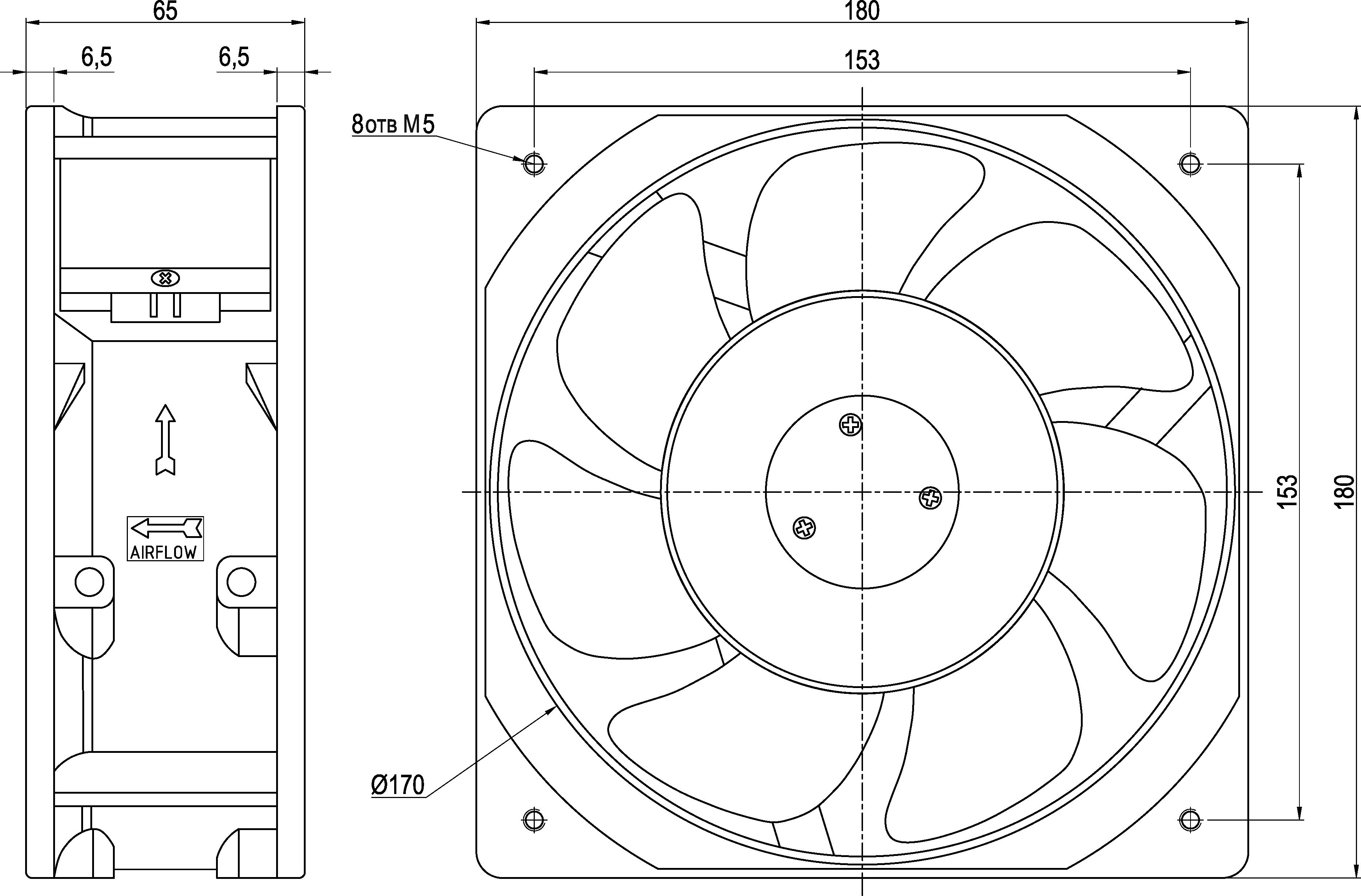 VENT-18065.220VAC.7MSHB/MSHB.SA