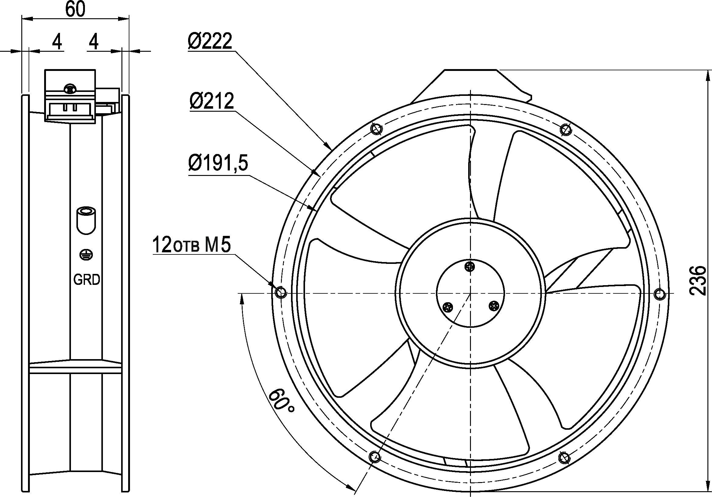 VENT-22260.220VAC.5MRHB