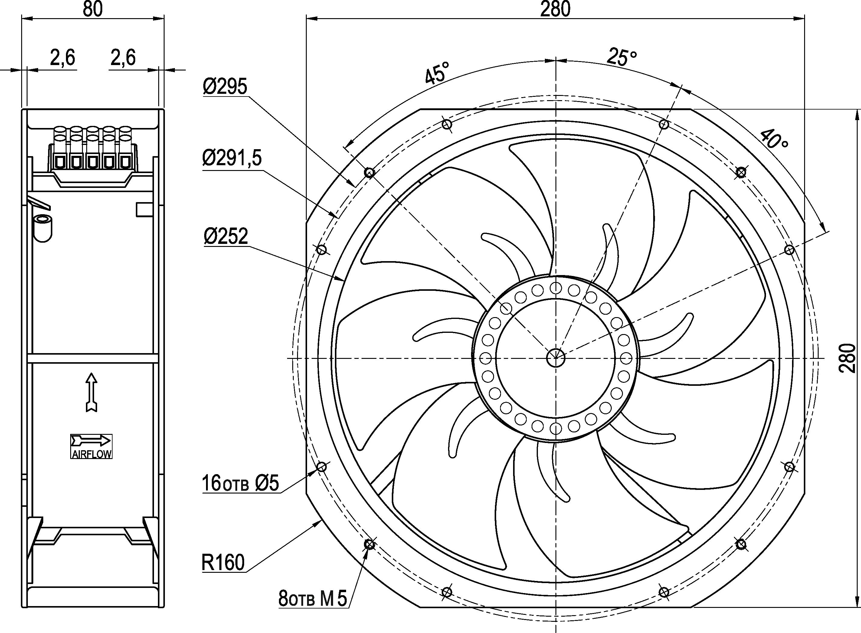 VENT-28080.24VDC.7MRHB