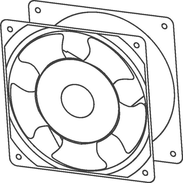 Квадратные вентиляторы VENT