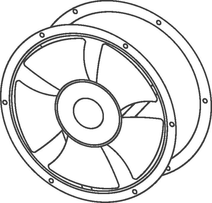 Круглые вентиляторы VENT