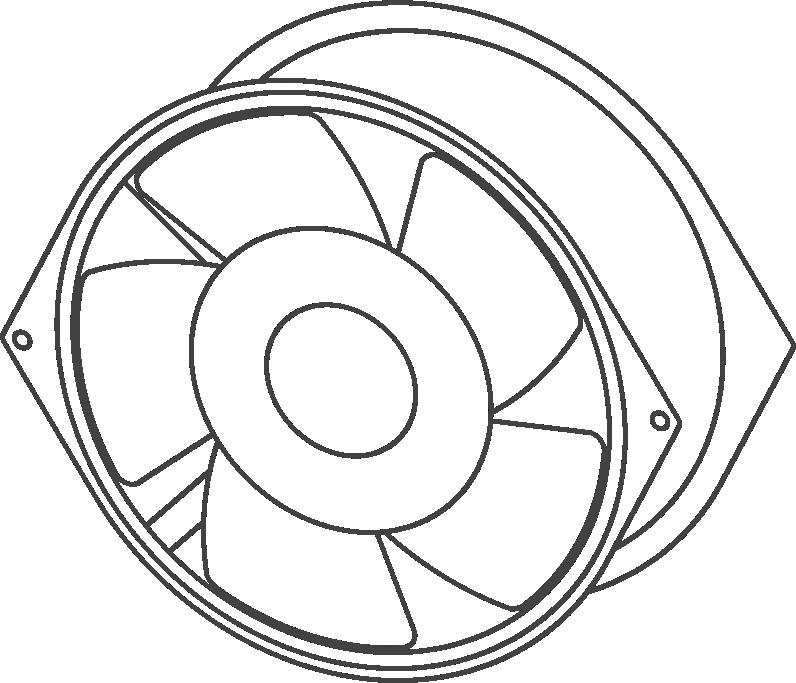 Овальные вентиляторы VENT