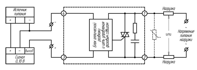 Реле серий HD-хх22.10U