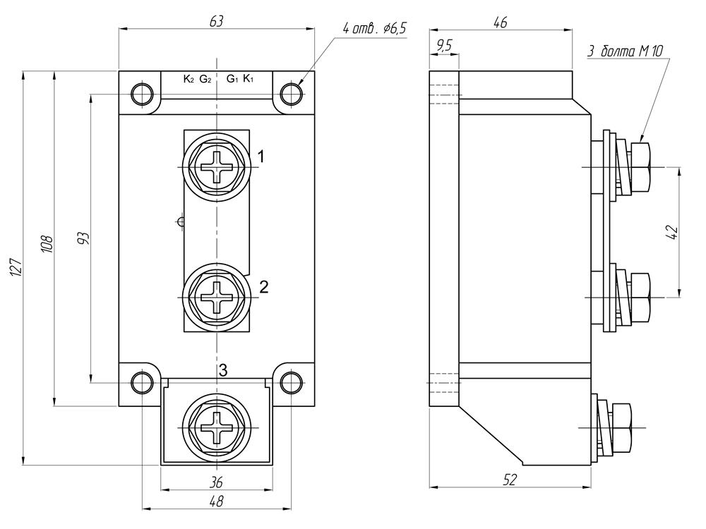 Реле серии GaDH-ххх800.ZD3