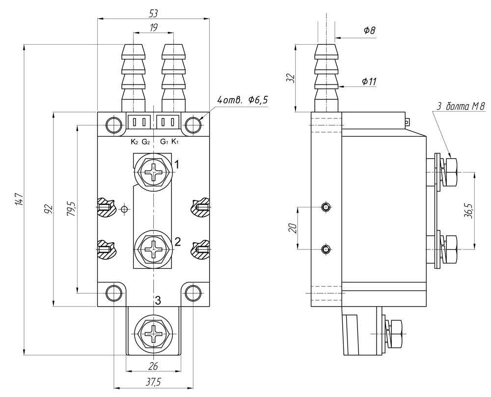 Реле серийGwDH-500120.ZD3, GwDH-600120.ZD3