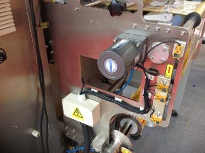 Контроль натяжения пленки в упаковочном станке