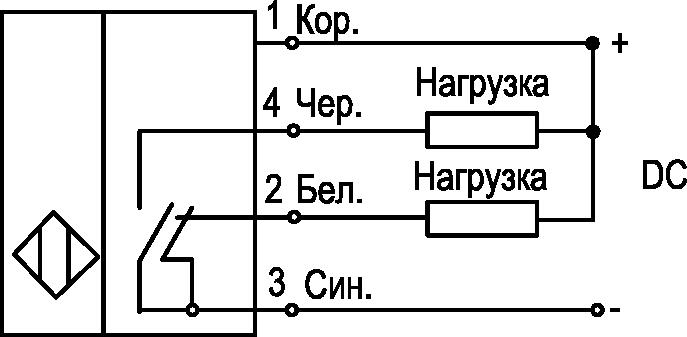 K), Четырехпроводные, PNP