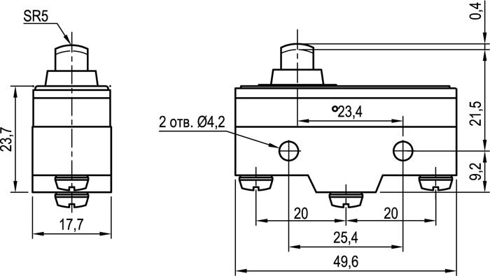 Концевой выключатель KLS-A511D