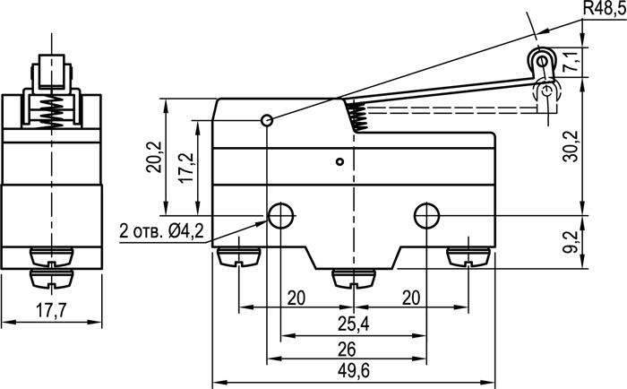 Концевой выключатель KLS-A511G1