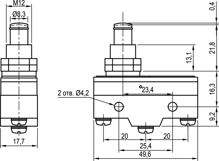 Концевой выключатель KLS-A511M