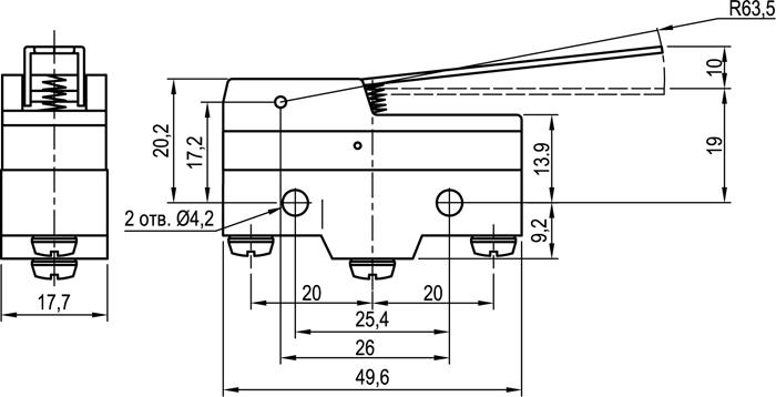 Концевой выключатель KLS-A511N1