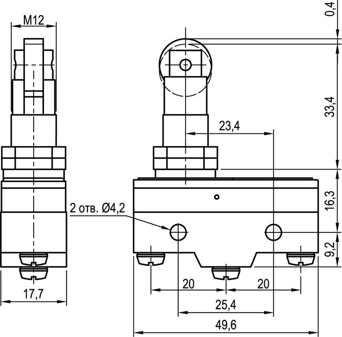 Концевой выключатель KLS-A511Q1