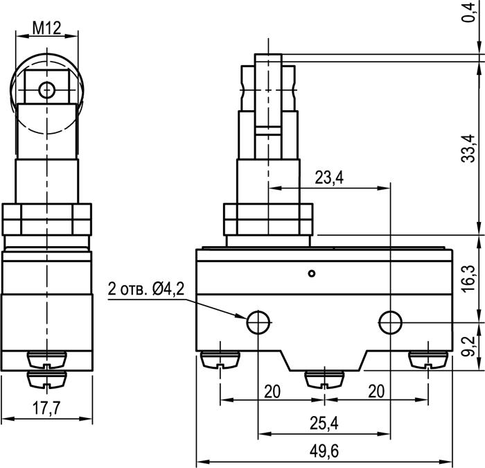 Концевой выключатель KLS-A511Q2