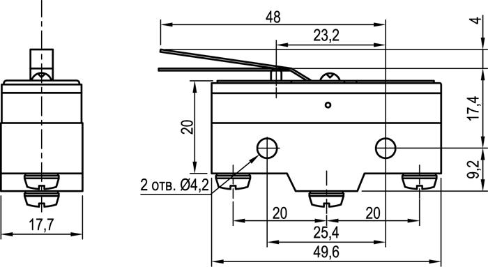 Концевой выключатель KLS-A515X