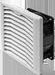 Впускная решетка с вентиляторами KIPVENT-200.01.230