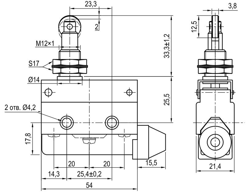 Концевой выключатель KLS-A7.7311