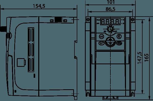 Габаритные размеры - Габарит 2
