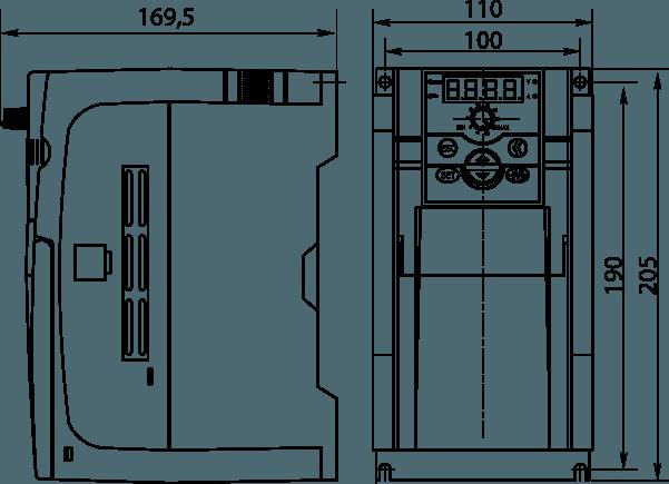 Габаритные размеры - Габарит 3