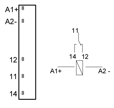 схемы подключения промежуточных реле KIPPRIBOR серии SR