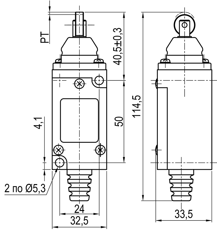 Концевой выключатель KLS-HL.5220