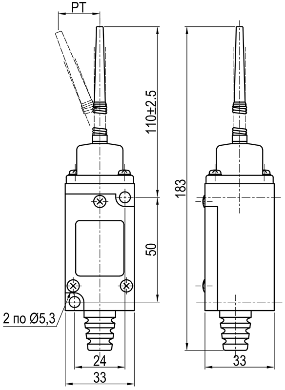 Концевой выключатель KLS-HL.5300