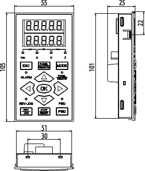 Панель управления AFD-XPNL.11